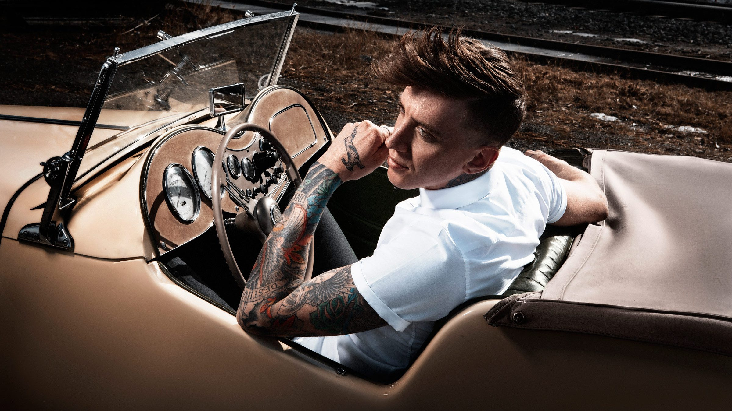 Tattoos Tan Car Vintage